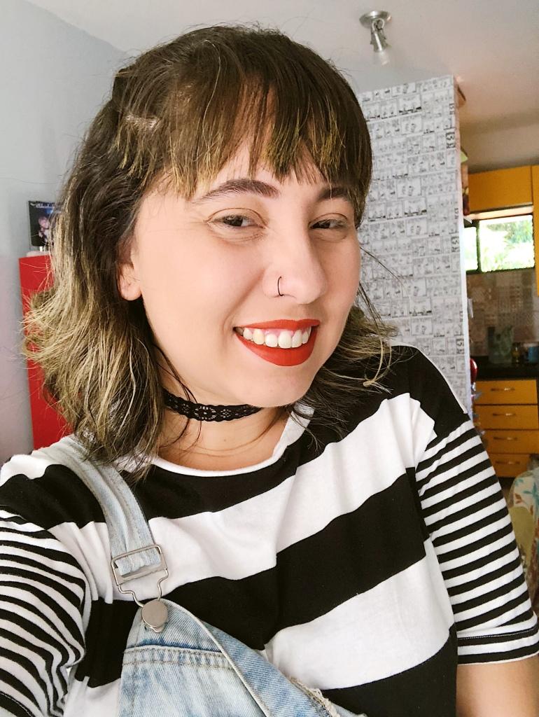 Transição Capilar - Cabelo Camila Gomes